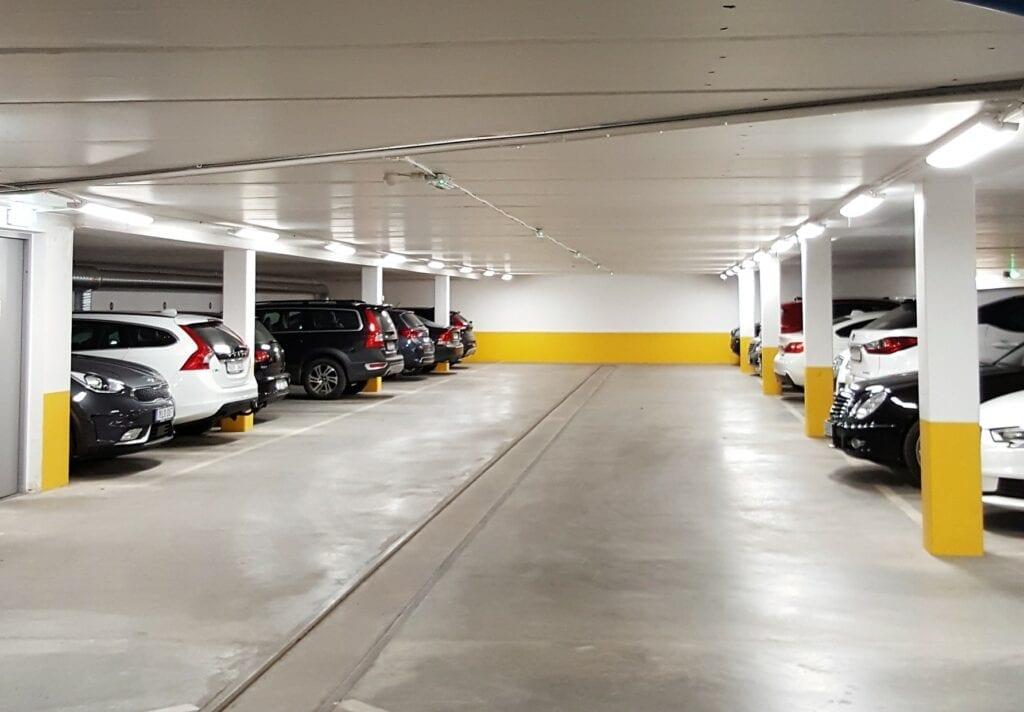 Lumba i garage i Gbg 20181019