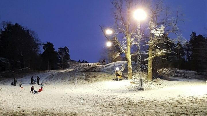 Oskarshamns Skidbacke Dec 2017